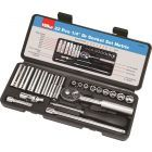 "22 pce 1/4"" Socket Set Metric"