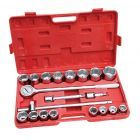 "21 pce 3/4"" Drive Socket Set Metric"