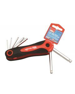 7 pce Ball Point Hex Key Set Metric