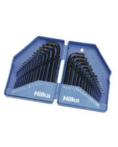 30 pce Hex Key Set in Folding Case