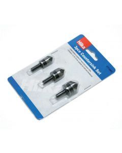 3 pce Countersink Set