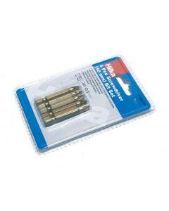 5 pce Pozi No 2 Bits 50mm Titanium Bits