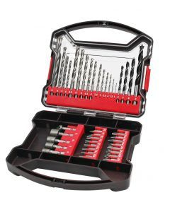 41 pce Drill Bit And Accessory Kit