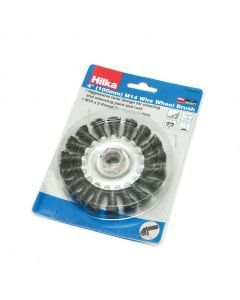 "4"" (100mm) M14 Wire Wheel Brush"