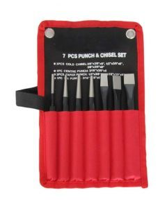 7 pce Punch & Chisel Set