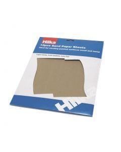 10 pce Sandpaper Sheets