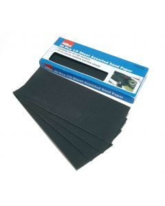 30 pce 1/3 Sheet Assorted Sandpaper