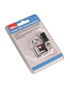 27mm TSA Travel Keyed Padlock