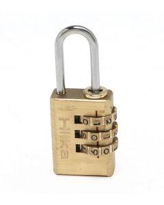 20mm Brass Combination Padlock