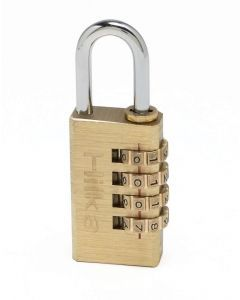 30mm Brass Combination Padlock