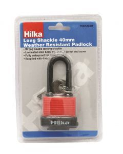 40mm Long Shackle Weather Resist Padlock
