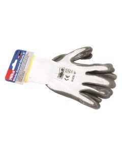 "Small 8"" Nitrile Coated Work Gloves"
