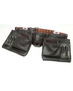 HD Leather Double Tool Belt Oil Tanned