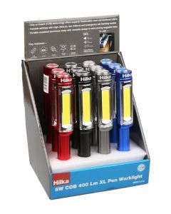 4.5W COB 400L XL Pen Light & Batts 12 pce CDU