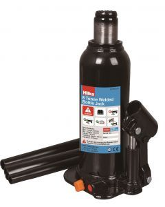 8 Tonne 222 - 447mm Welded Bottle Jack