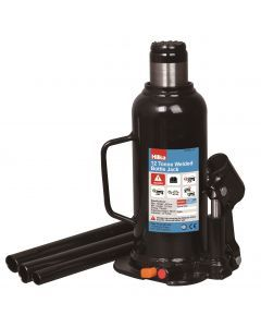 12 Tonne 227 - 457mm Welded Bottle Jack