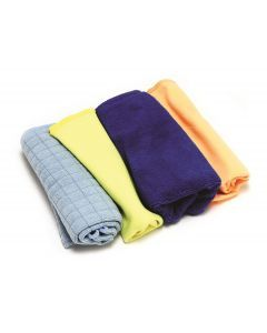 4 pce Microfiber Cloth Set