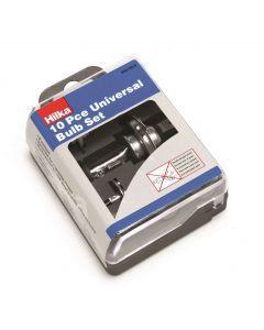 10 pce Universal Bulb Kit