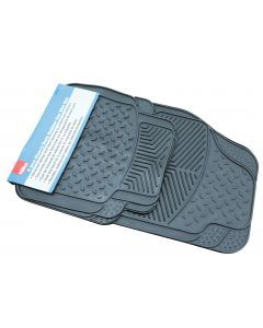 4 pce Heavy Duty Universal Car Mat Set