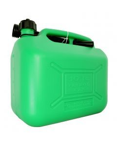 10L Green Plastic Fuel Can