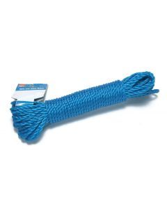 "15m x 6mm (50ft x 1/4"") Poly Rope"