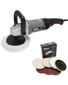180mm Sander Polisher & 7 pce Kit