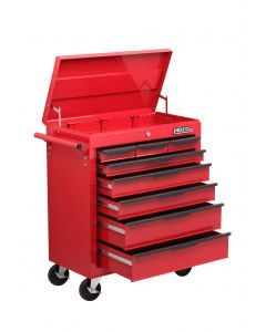 HD 8 Drawer Trolley with Lid Storage BBS