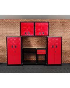 5 pce Garage Storage Solution