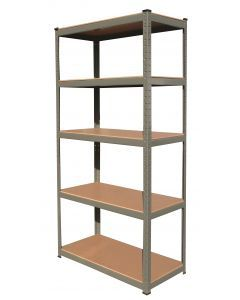 265Kg 5 Tier Boltless Shelving