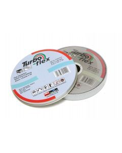 10 x 115mm SS Cutting Disc Turbo Flex