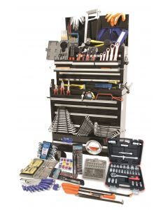 489 pce Tool Kit in Pro Chest & Cabinet