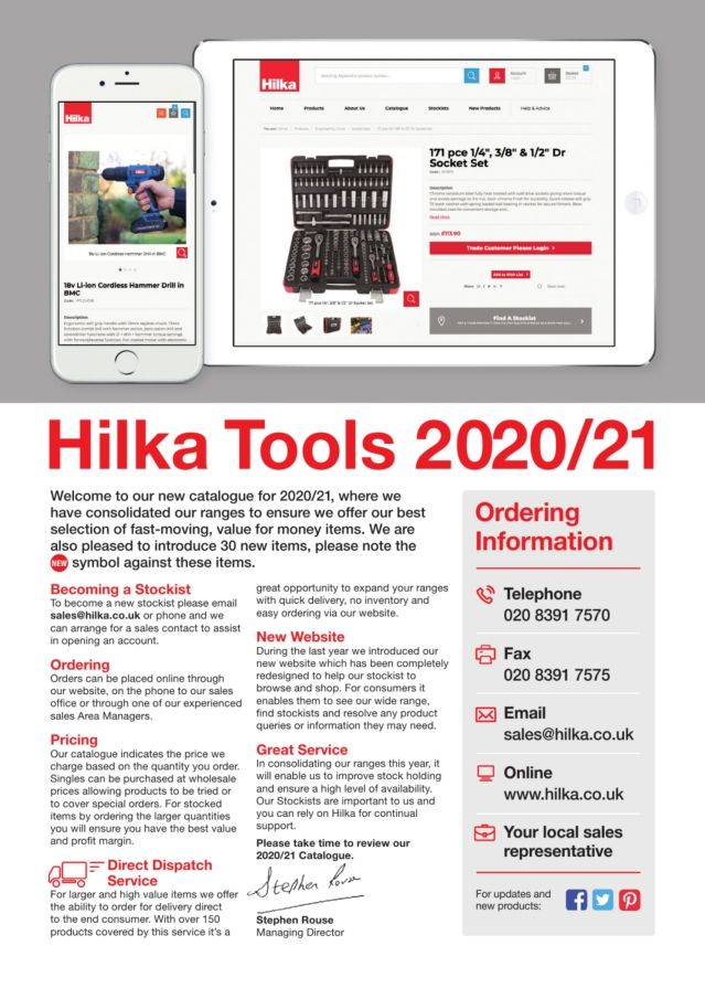 Hilka Tools 28505104 4 Head Circlip Plier Set Pro Craft Red-Snap Ring
